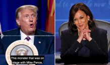 Trump calls Kamala Harris 'unlikable', 'a monster' and a 'communist' after her VP debate performance – and says Joe Biden 'won't make it two months' as President