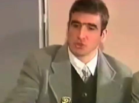 He began with this sentence when the seagulls follow the trawler,. Eric Cantona Sardine Speech The Truth Revealed Daily Mail Online