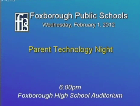 Parent Technology Night