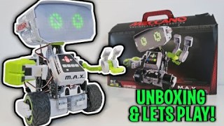 UNBOXING & LETS PLAY ? Meccano M.A.X. ? Robotic Interactive Toy with Artificial Intelligence