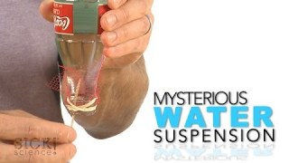 Mysterious Water Suspension – Sick Science! #172