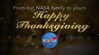 Happy Thanksgiving from NASA