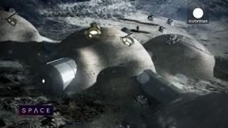 ESA Euronews: Building a Moon base