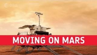 ExoMars ? Moving on Mars