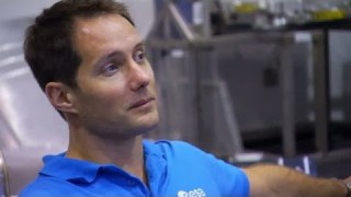 ESA astronauts training for ISS mission