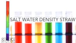 Salt Water Density Straw – Sick Science! #140