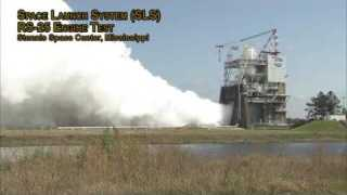 NASA?s Stennis Space Center Conducts RS-25 Engine Test