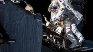 Alpha Magnetic Spectrometer Repair Spacewalk #1, Nov. 15, 2019