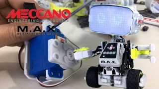 M.A.X. Meccano Advanced XFactor Robotic with Artificial Intelligence  || Keith's Toy Box