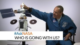 #AskNASA? Who Is Going with Us?