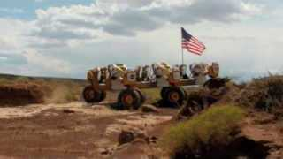 NASA Completes Desert Lunar Rover Testing