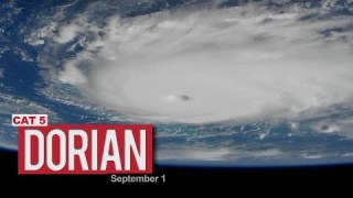 Views of Hurricane Dorian from the International Space Station – September 1, 2019