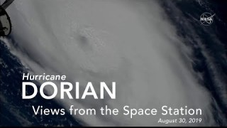 Views of Hurricane Dorian from the International Space Station – August 30, 2019