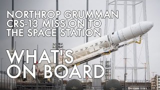 Northrop Grumman's CRS-13 Mission to the International Space Station: What's on Board