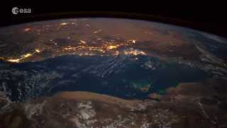A meteoroid as seen from the Space Station? make a wish!