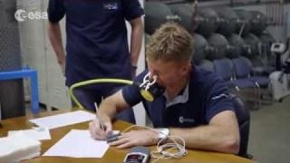 Tim Peake bio and training