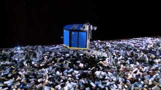 Using LEGO?  to simulate ESA's touchdown on a comet