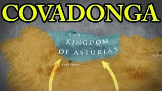 The Battle of Covadonga 722 AD