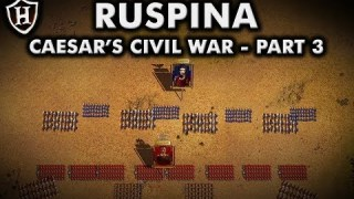 Battle of Ruspina, 46 BC ⚔️ Caesar's Civil War