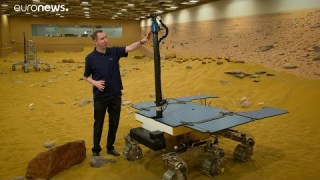 ESA Euronews: Mit ExoMars nach dem Leben auf dem Mars suchen