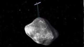 Rosetta orbiting the comet