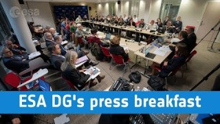 ESA Director General's press breakfast
