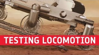ExoMars – Testing locomotion