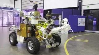 Eurobot rover under astronaut control