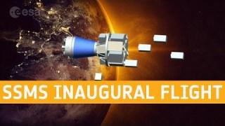 SSMS inaugural flight on Vega