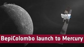 BepiColombo launch to Mercury