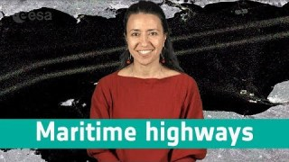 Earth from space: Maritime highways