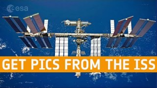 How to get pictures from the International Space Station via amateur radio