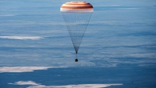 Watch Three Space Travelers Return Home from the International Space Station