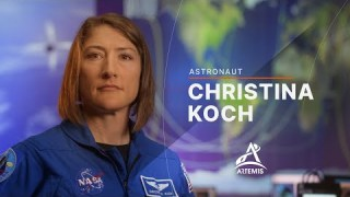 Meet Artemis Team Member Christina Koch