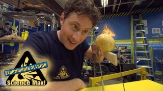 Science Max|BUILD IT YOURSELF|POTATO Centre Of Gravity|EXPERIMENT
