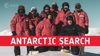 An astronaut's perspective on searching meteorites in Antarctica