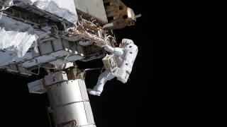 Spacewalk to Finish Battery Upgrades & Install Cameras on the International Space Station