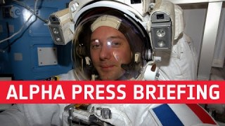 Alpha pre-launch press briefing