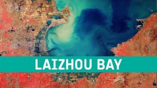 Earth from Space: Laizhou Bay, China