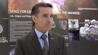 ESA at Farnborough 2012 – Fernando Doblas, Head of the ESA Communication Department