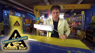 Science Max | BUILD IT YOURSELF | GRAVITY-Powered Boat |EXPERIMENT