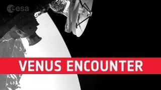 BepiColombo's close Venus encounter