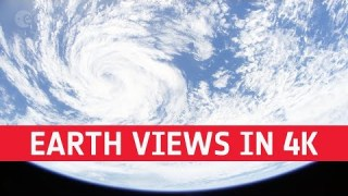Earth views from space – 1 hour long in 4K!