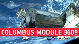 Columbus module | Space Station 360 (in French with English subtitles available)