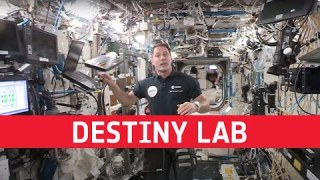Destiny laboratory – a day in the life of Thomas Pesquet