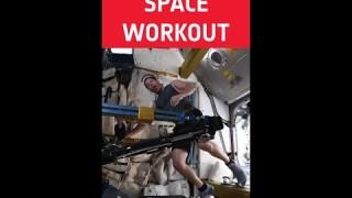 Space workout anyone?🦵 #shorts
