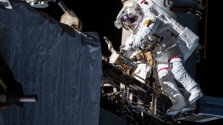 Alpha Magnetic Spectrometer Repair Spacewalk #1, Nov. 15, 2019