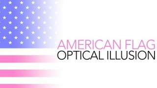 American Flag Optical Illusion - Sick Science! #002