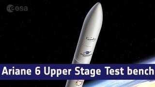 Ariane 6 Upper Stage Test bench