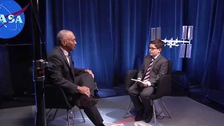 Aspiring Reporter Interviews Bolden about NASA's Journey to Mars
